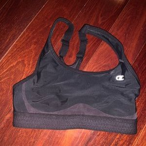 Champion Women's Black Sports Bra